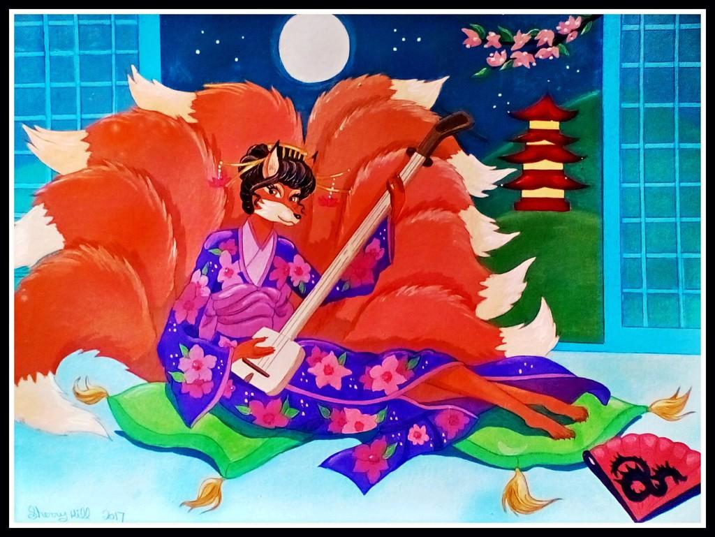 Shamisen Kitsune