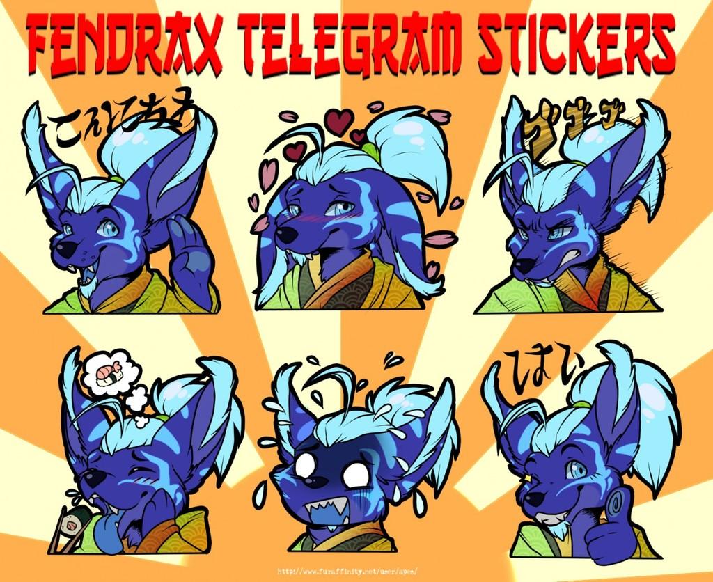 Most recent image: Telegram Sticker Set - QuikkDragon