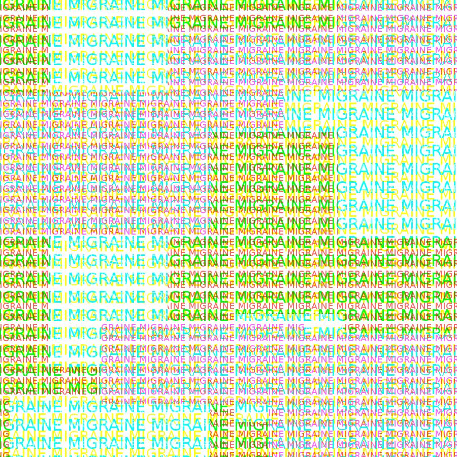 Most recent image: Migraine