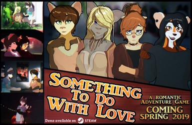 Something To Do With Love - Flyer