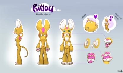 Rimou's final Ref Sheet