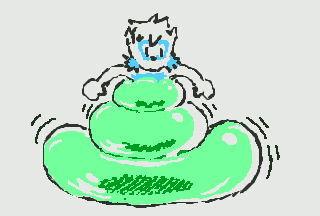 Mint-Ice-cream bubble TF (3DS)