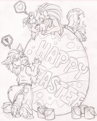 Happy Easter Sketch