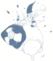 Twitter Sketch Commission: Sanagi