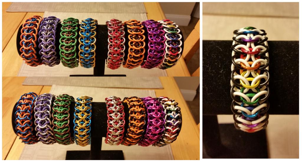 NEW ITEM! Dragonscale Bracelet