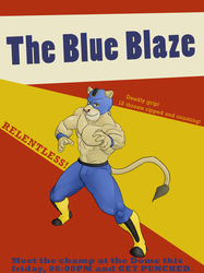 Animal Wrestling: Blue Burst