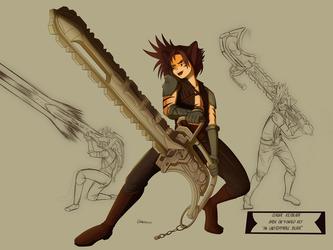 Keyblade Claude by Hawlus