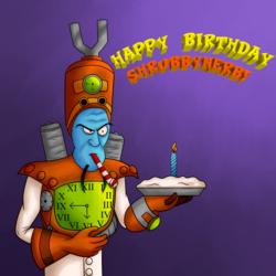 Happy Birthday with N. Tropy