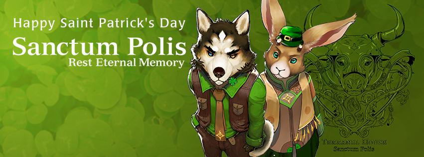 Happy St. Patricks Day From Santum Polis