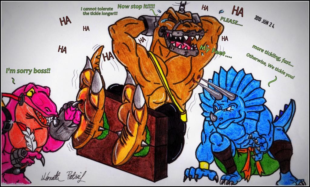 A Bad Raptor's punishment
