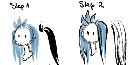 how to hair 2