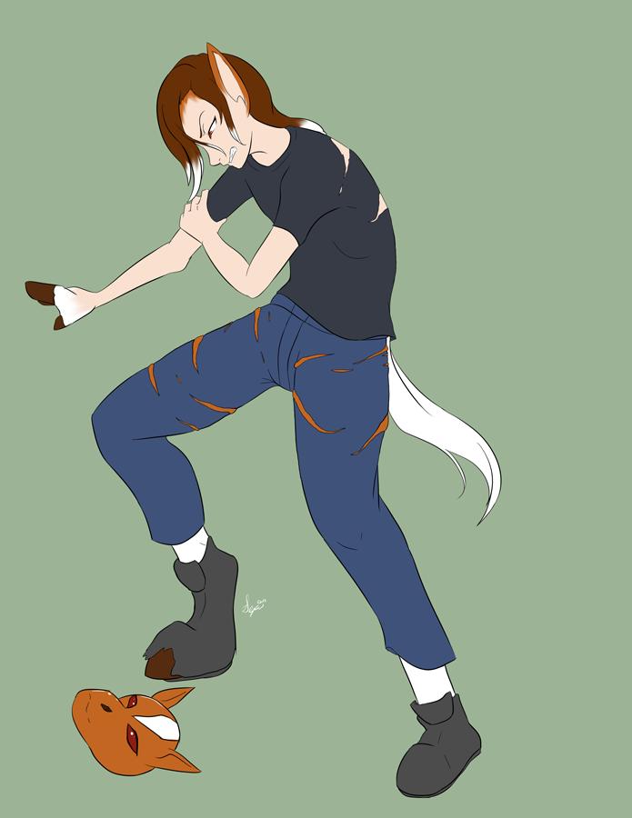 Commission: Horse Mask 02