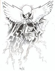 Faenya in Thunderstorms
