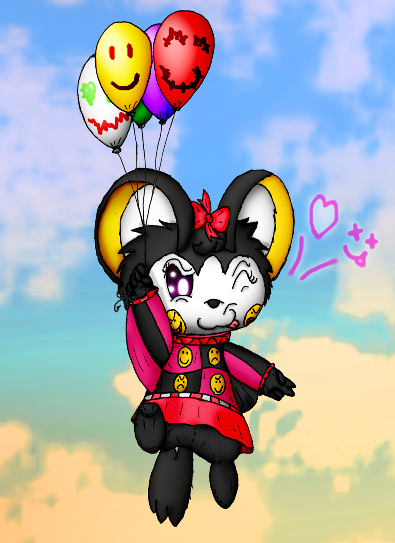 "Ms. Emoji the Emolga's ""Sky-High Flying Balloons"""