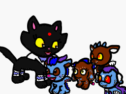 Most recent image: Black Luck meets Pop Fizz and SD's babies