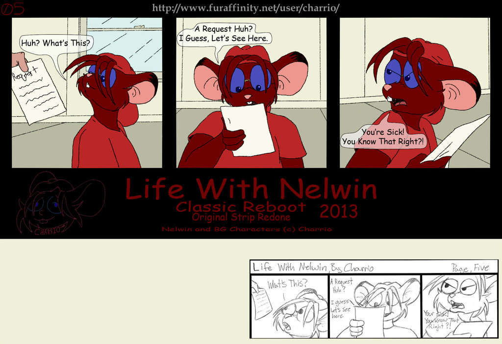 Featured image: Life With Nelwin Reboot 05