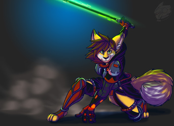 Sith Warrior (Commission Art)