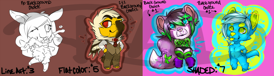 Most recent image: OPEN FOR CHIBI COMS (3 slots)