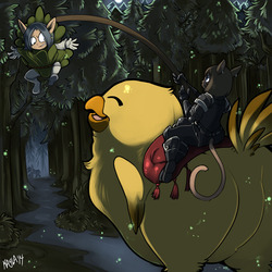 How to Train Your Fatass Chocobo