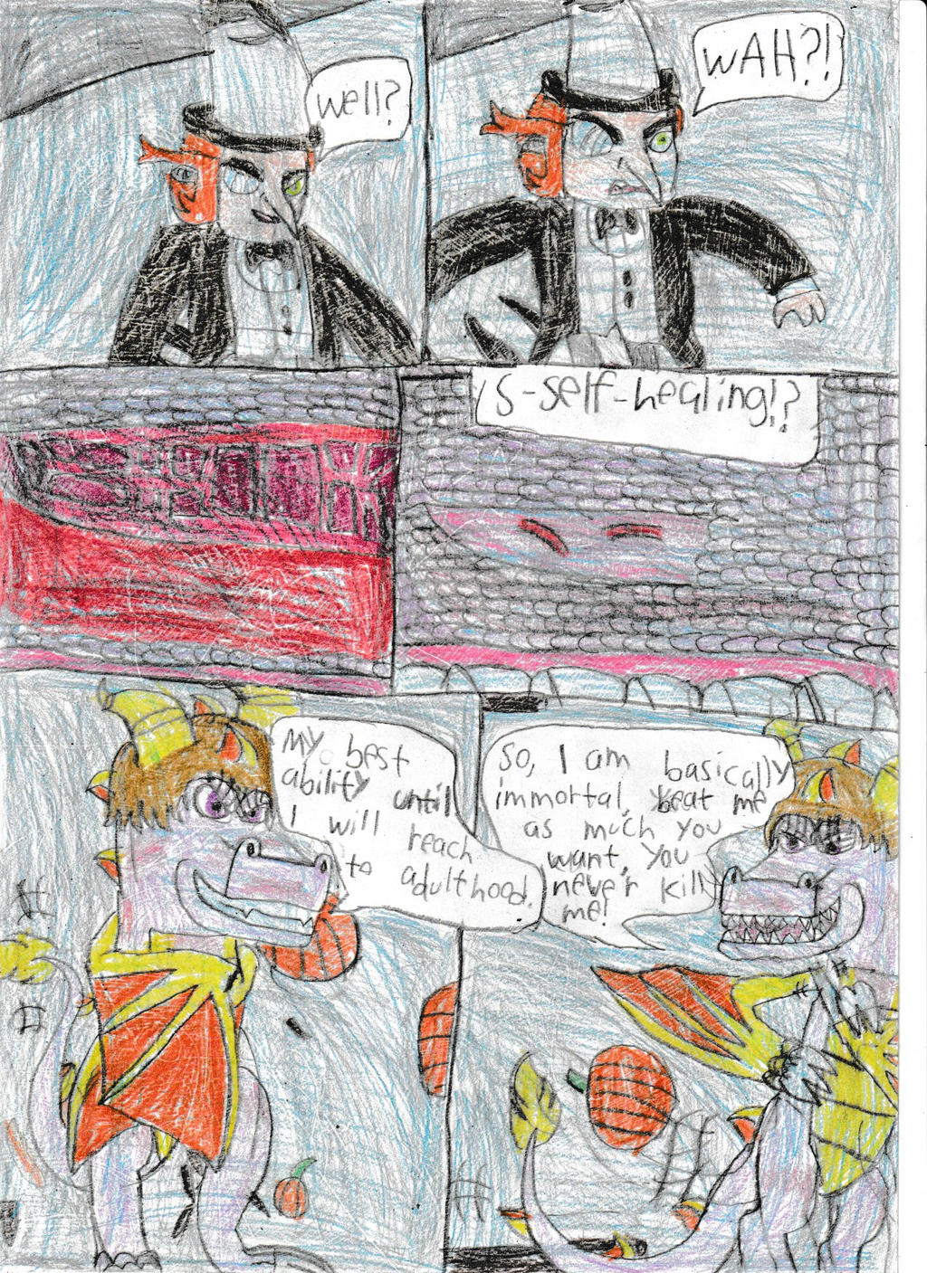 Legend of dragon: Bird and dragon:Pg 54