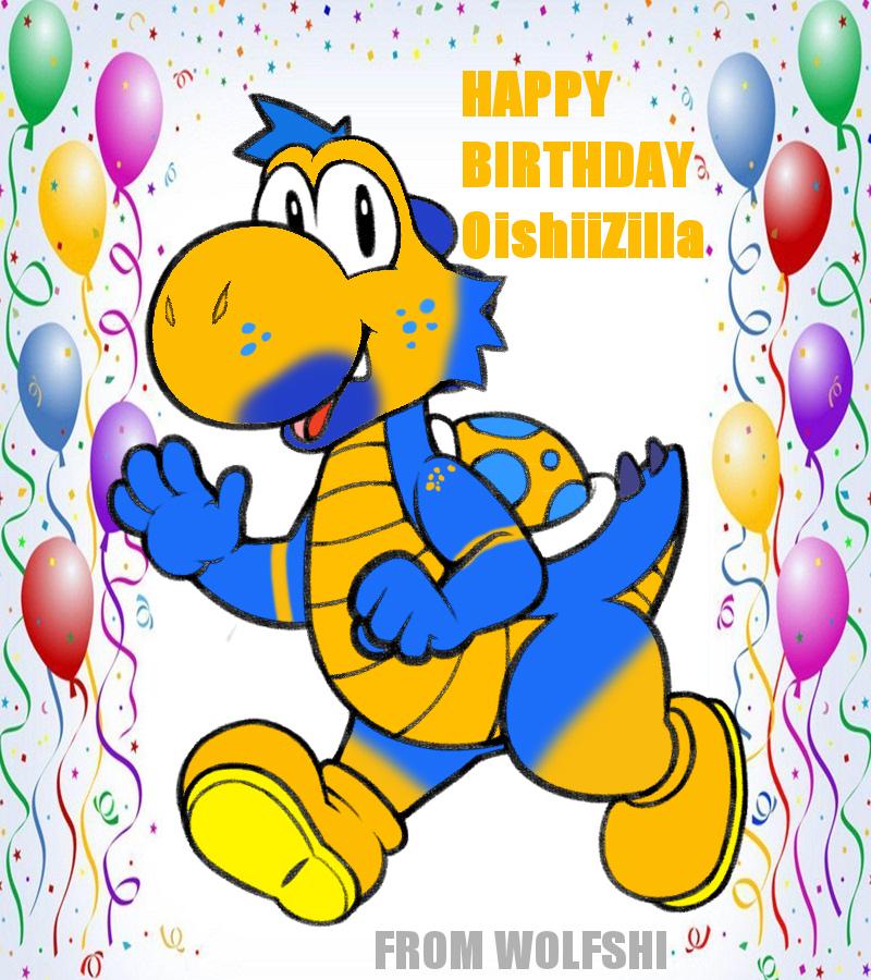 OishiiZilla BIRTHDAY GIFT