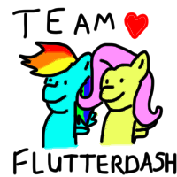 My FlutterDash avatar