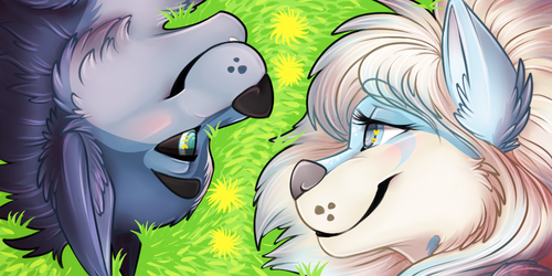 [commission] Icon Set - In The Grass