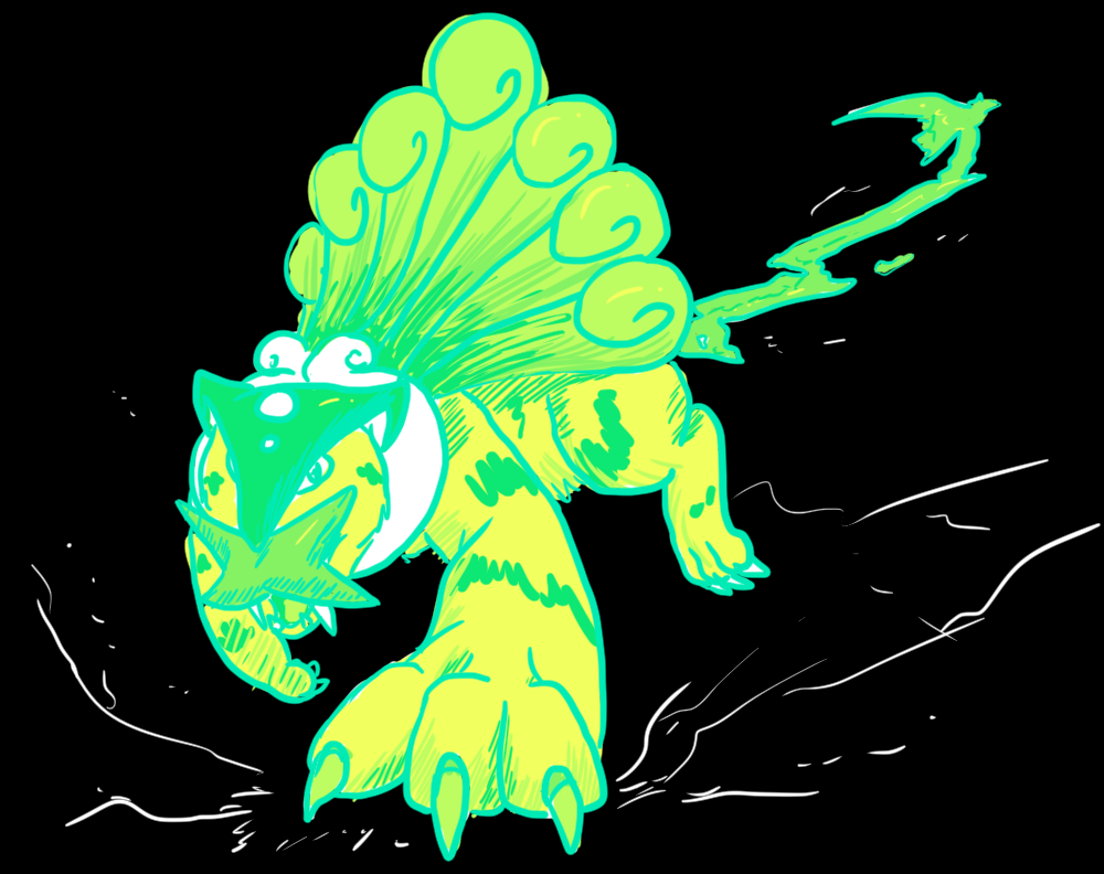 Most recent image: Neon Tiger