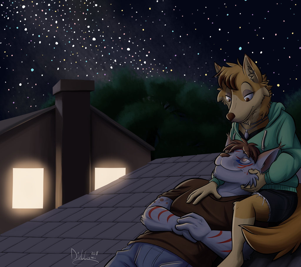 Commission: Under the Stars
