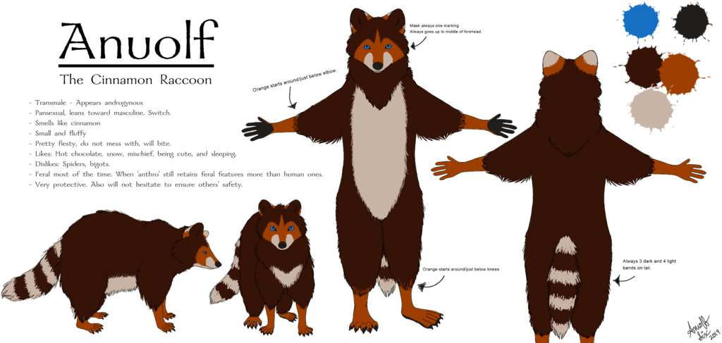 Most recent image: Anuolf Reference Sheet