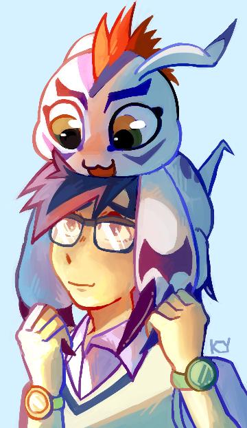 gomamon and joe