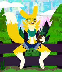 Teenage Renamon