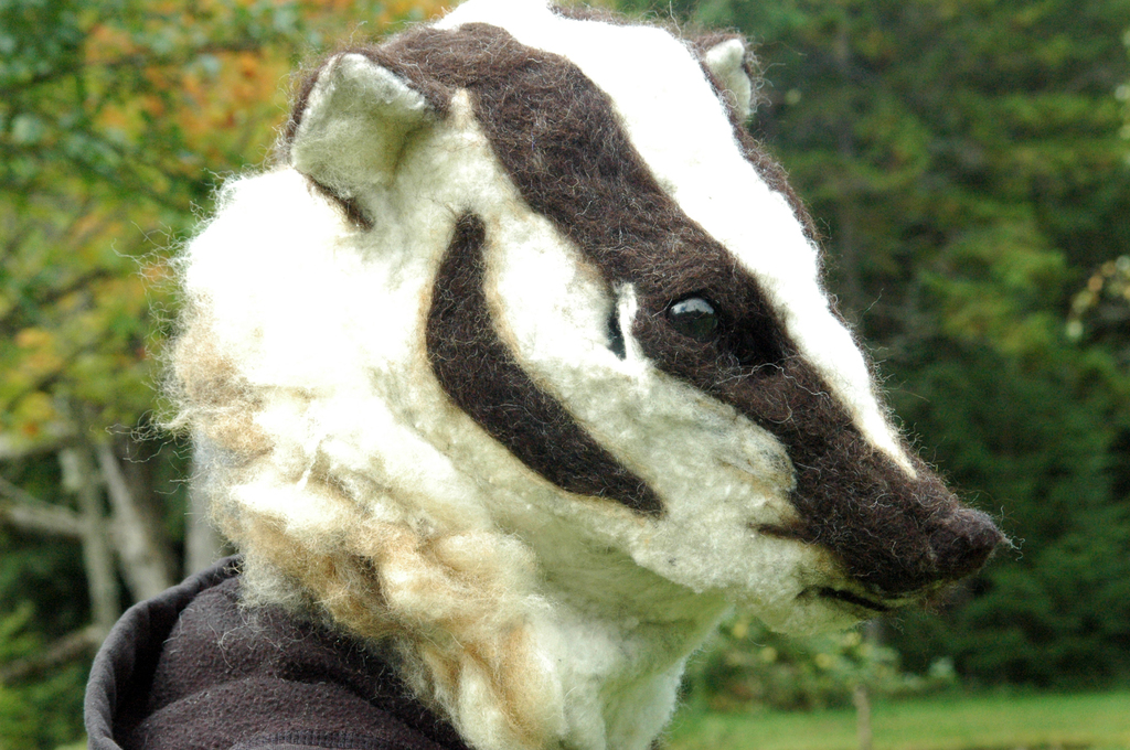 American Badger Mask
