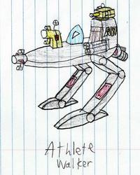Athlete Walker