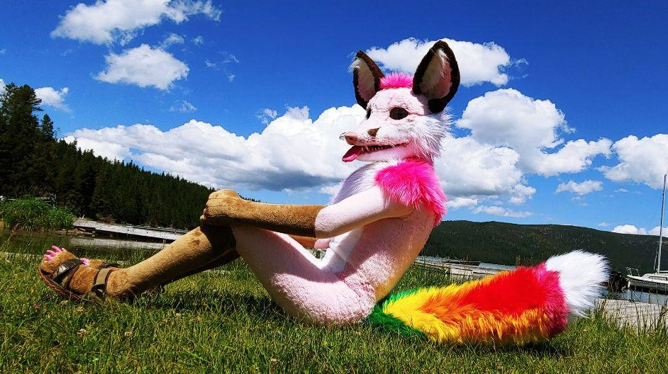 Pink Candy Fox.