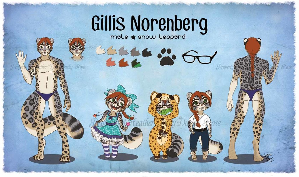 Commission: Reference Sheet for Gillis