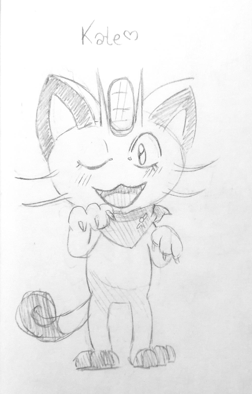 Meowth OC ~ Kate