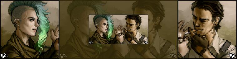 Most recent image: Sacha & Tez Icon