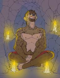 [Commission]-Hyenid Ritual 1