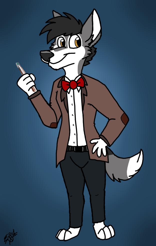 Murdock as 11th Doctor