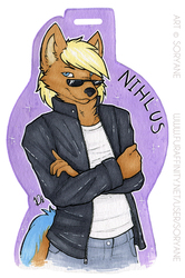 Nihlus - Waist Up Badge