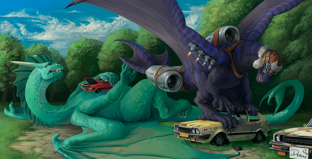Grand Theft Auto, Dragon Edition