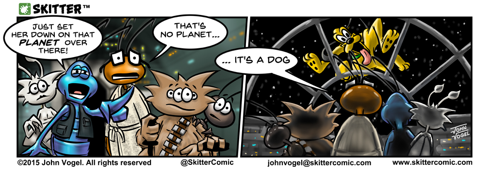 """SKITTER - """"That's No Planet"""""""