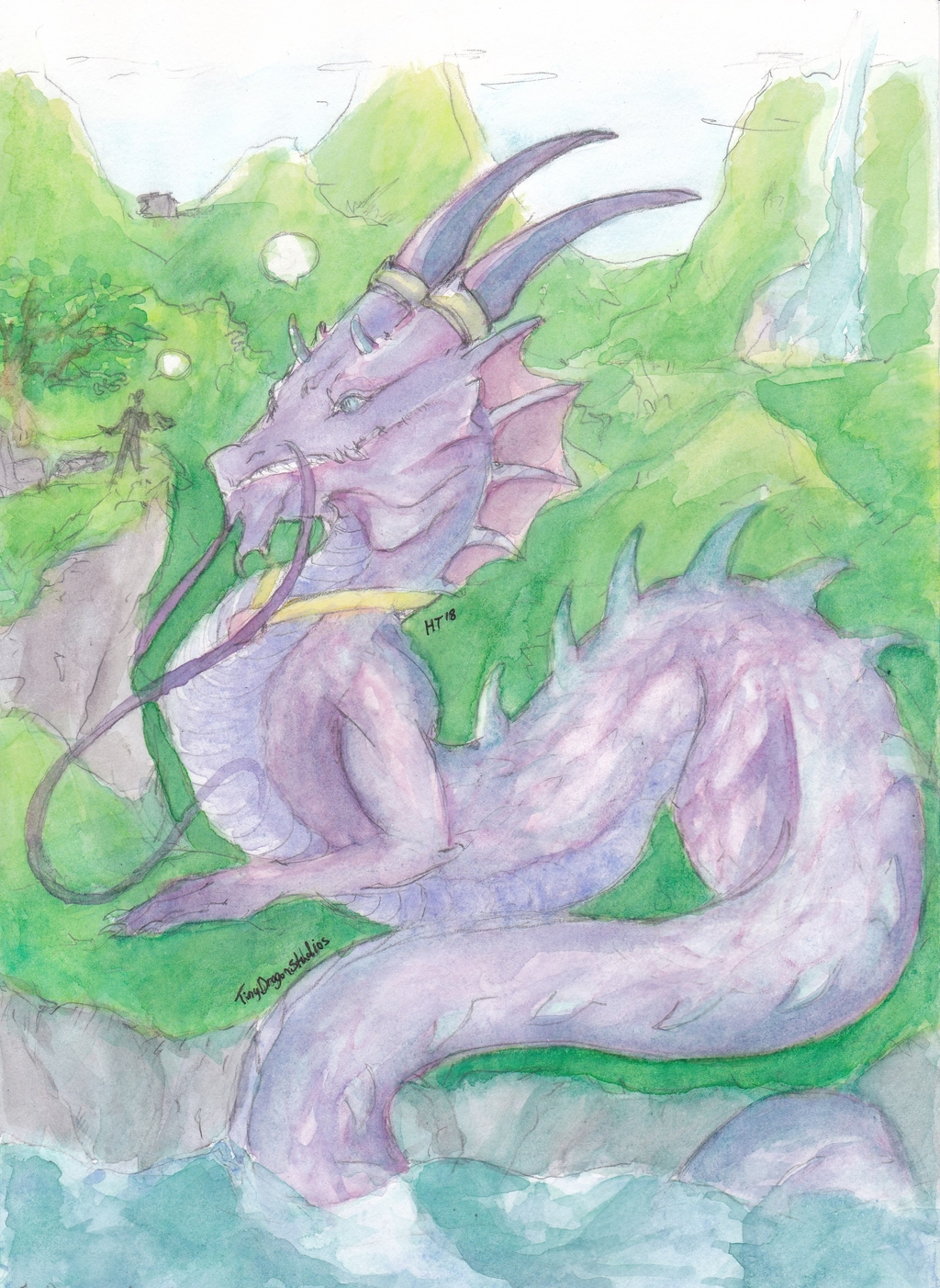 Most recent image: The Dragon and the Storyteller