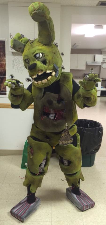 Most recent image: Springtrap Cosplay