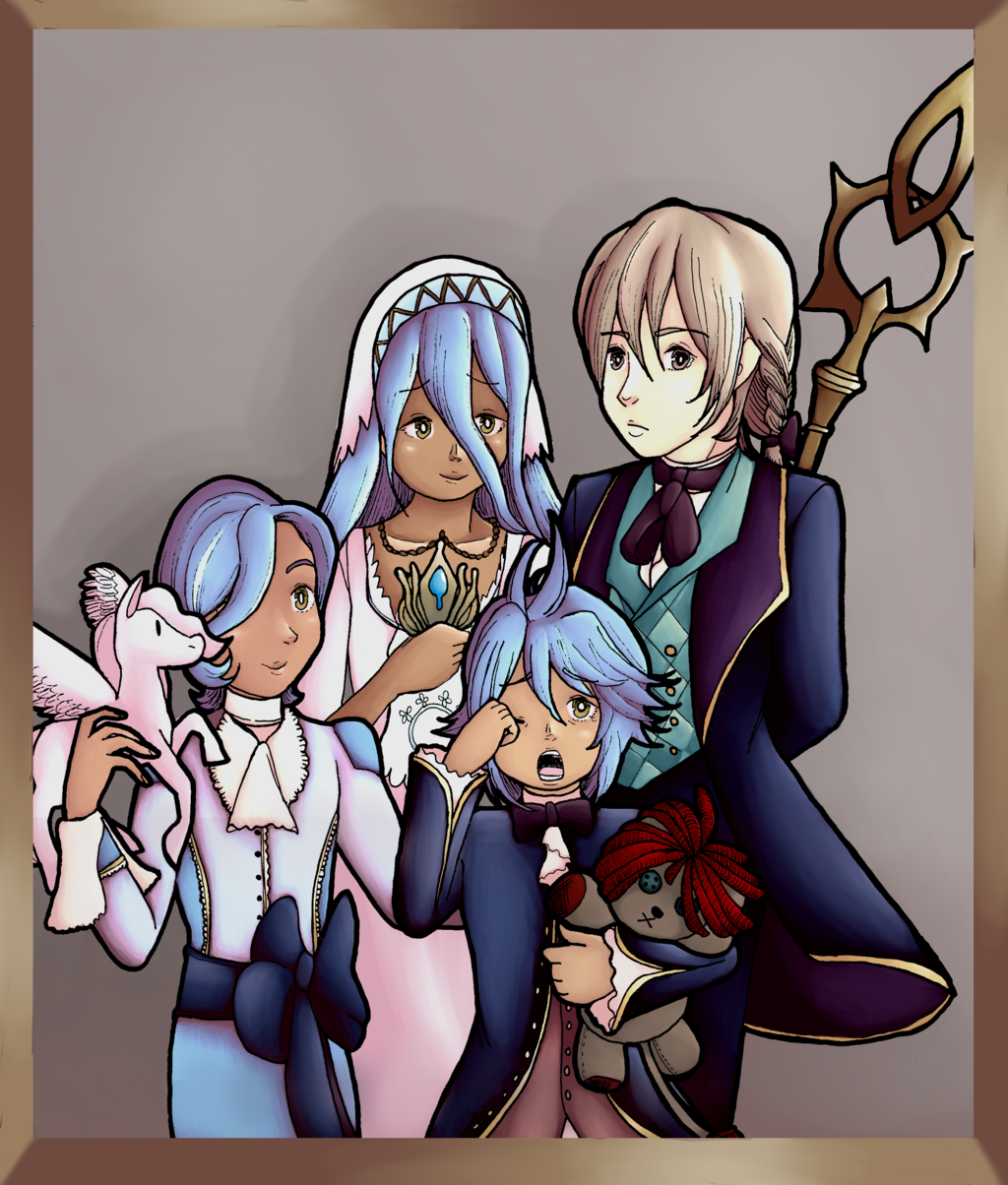 Jakob and Azura Family Portrait
