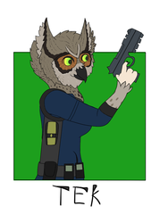 Tek Badge by Lem Ahnayd
