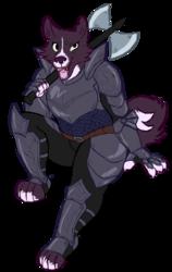 (commission) labrys dog