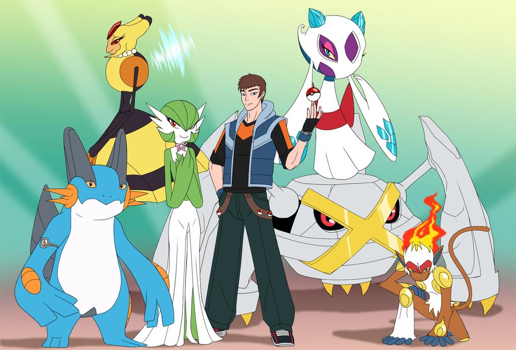 Pokemon Omega Ruby team