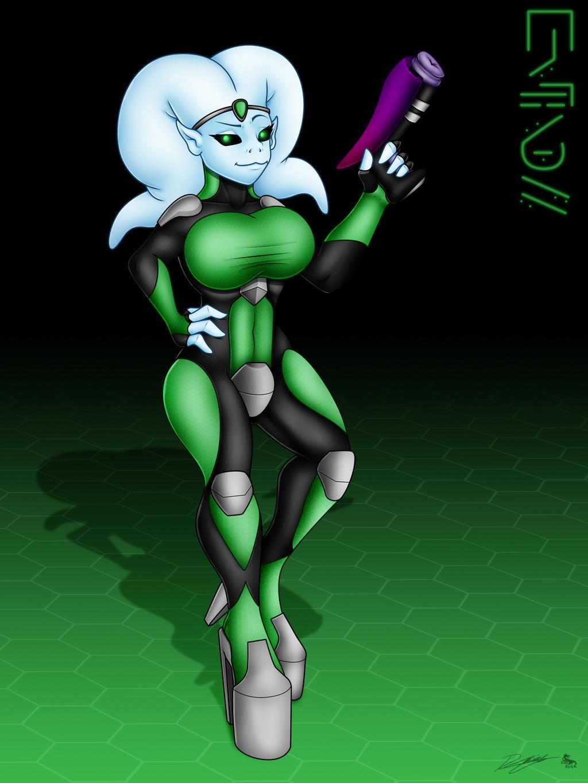 Most recent image: Alien Girl
